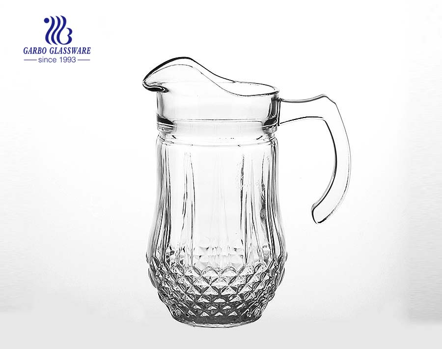 China FOB Guangzhou glassware glass pitcher glass jug factory supplier
