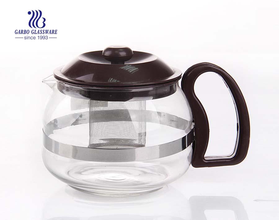 China Chongqing preço barato bule de chá de vidro jarro de chá de vidro exportando