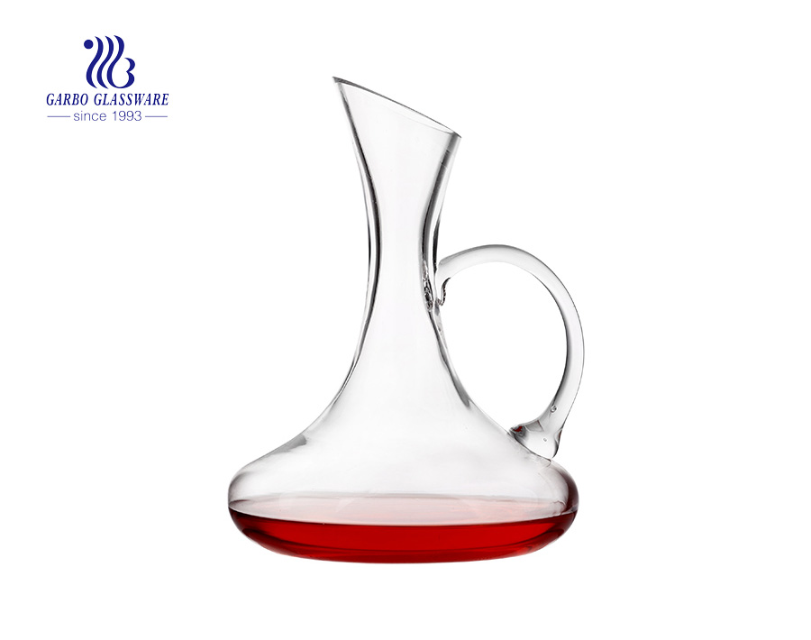 Luxury glass wine decanter with gift box in stock for exporting