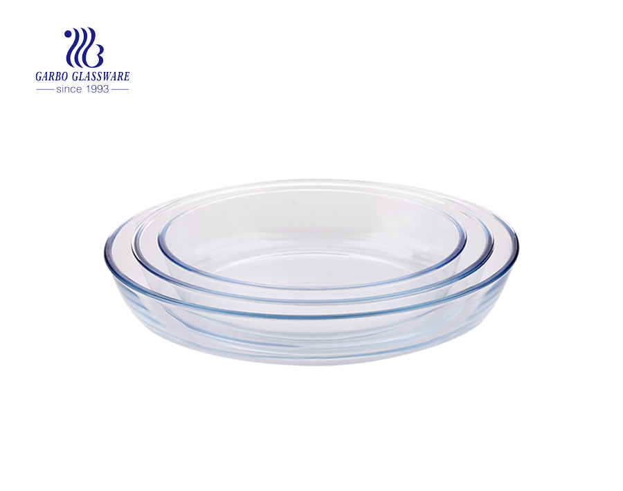 Anchor Hocking Around 8-Inch Square Glass Baking Dish Deep Pie Plate