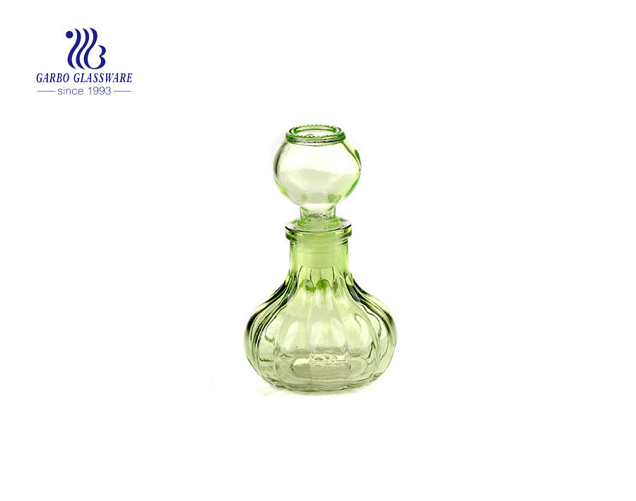 Colorful 55ml Decorative whisky Glass Decanter  for picnic