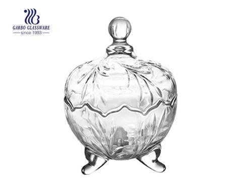 5.7 Zoll Großhandel klassische Glas Süßigkeiten Zuckerglas für den Heimgebrauch