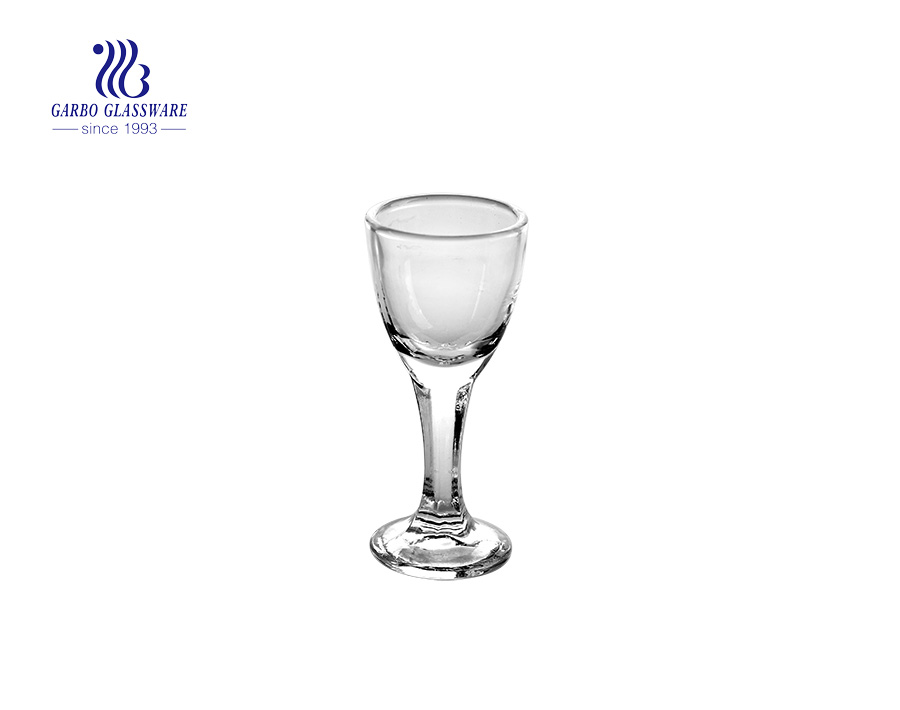 20ml high quality spirit drinking shot glass