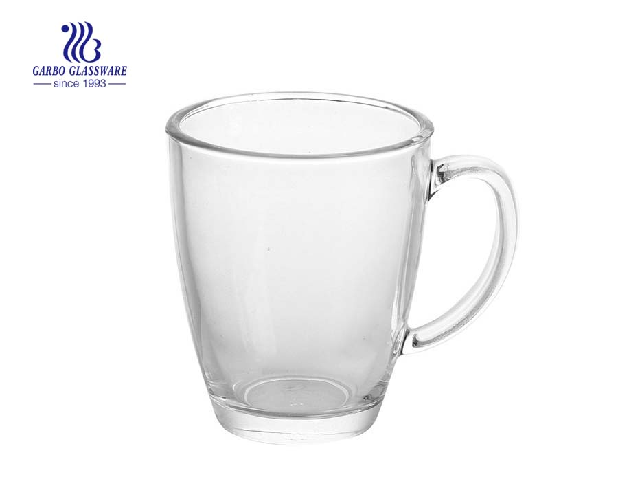 13.7oz Classic Glass Tea Mug For Festival Design