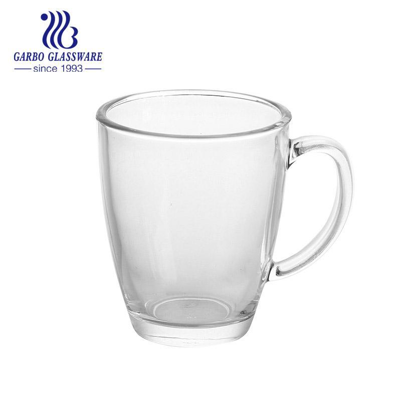 13.7oz Classic Glass Tea Mug For Festival Design
