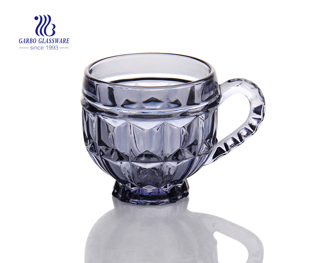 6.8oz Fancy Shape Glass Espresso Coffe Mug