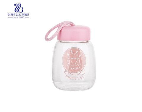 2020 Novo produto pirex de vidro promocional garrafa de água com logotipo