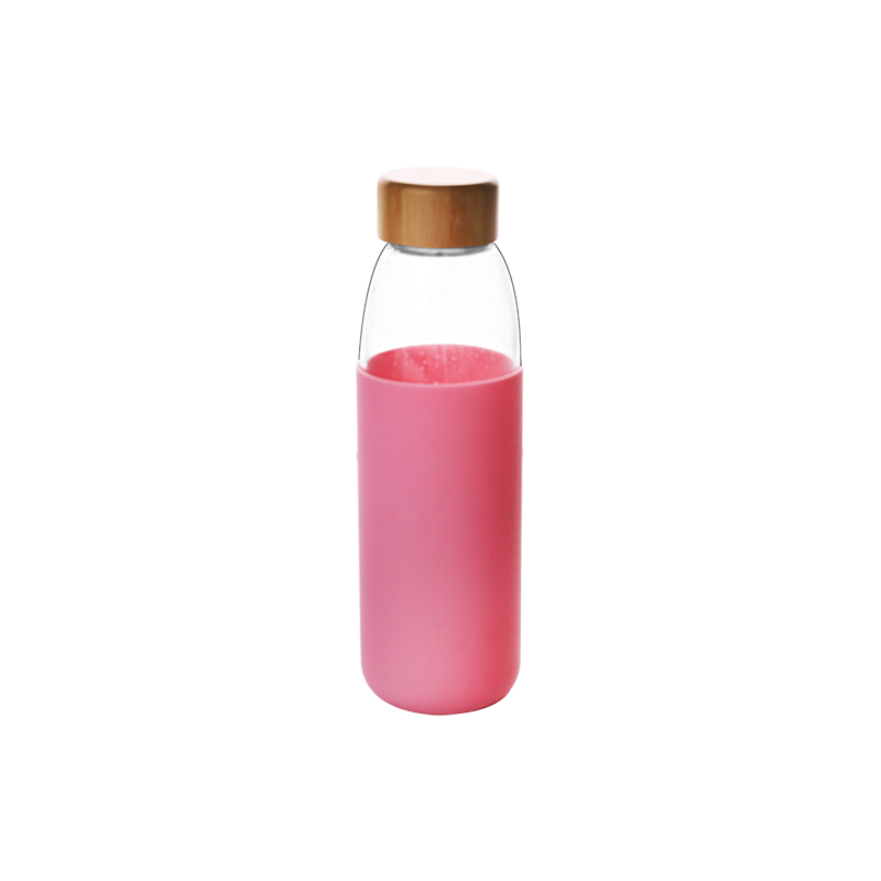 2020 New product pyrex glass promotional water bottle with logo