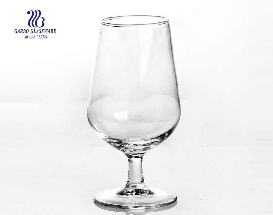 Kristallglas kurzstieliger Dickbauch Weinglas für zu Hause