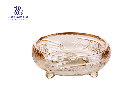Round Bulk Custom Promotional Gold Ashray Cigar Ashray