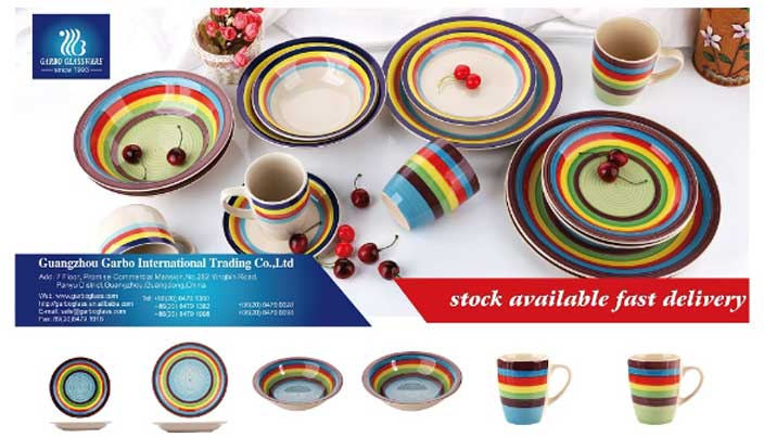 The Tendency of stonware dinner set in 2020