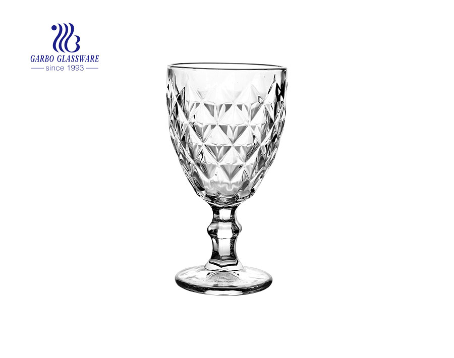 11oz highball engraved glass juice stemware with factory price