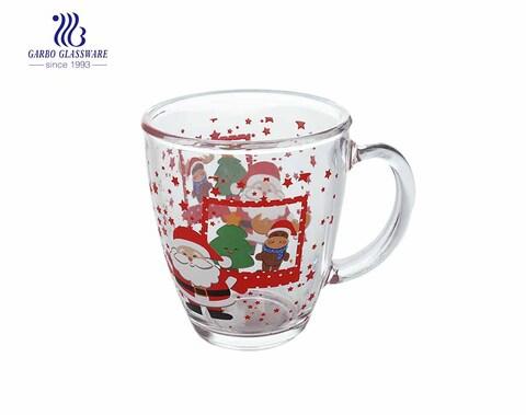Tasse à thé en verre 360ML avec un design personnalisé