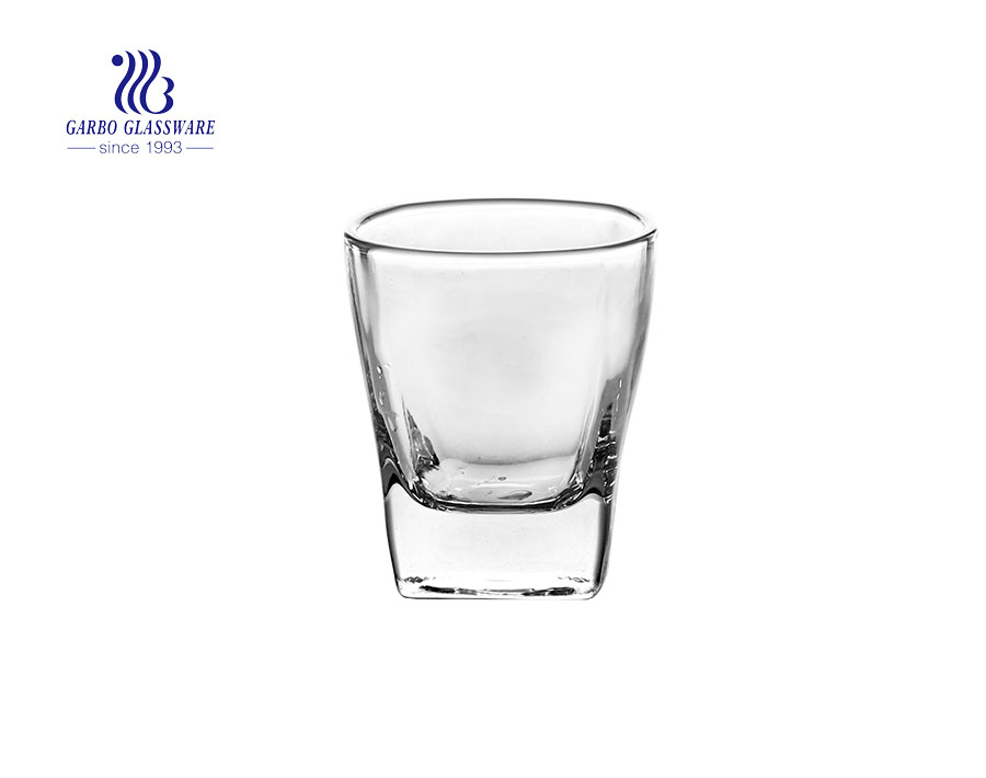 20ml 2 division tequila drinking shot glass