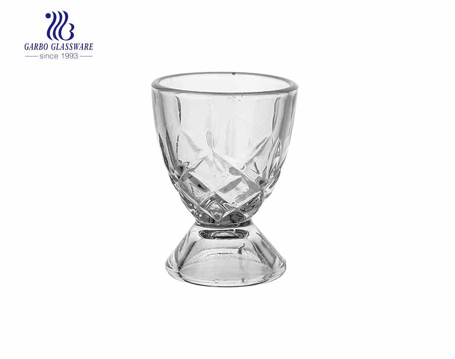 1.5oz high end engraved spirit drinking shot glass