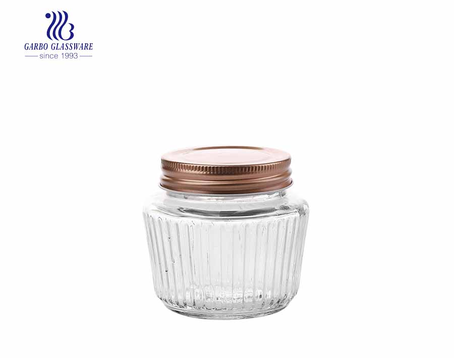 China wholesale function family use transparent glass storage jar set