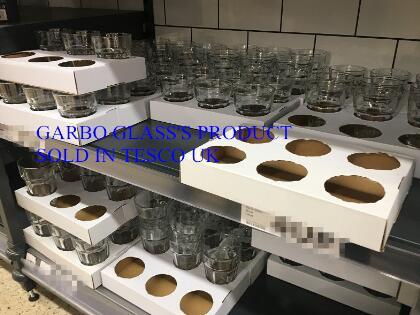Garbo Glass in the UK glassware market