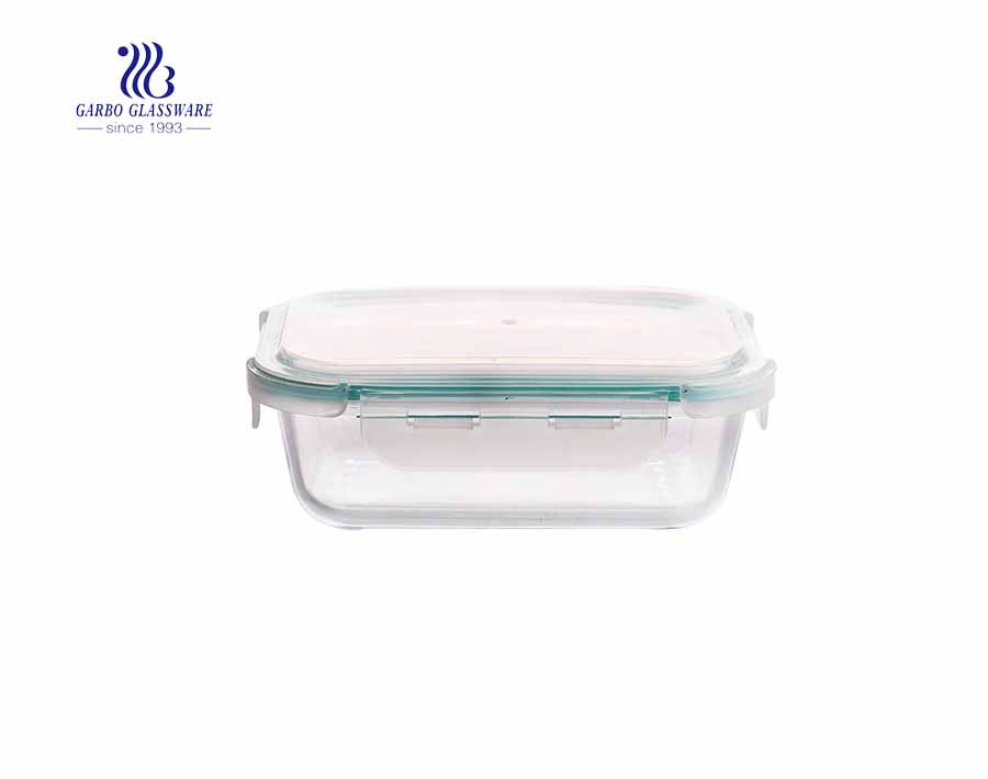 1040ml Rectangle classic pyrex glass lunch box