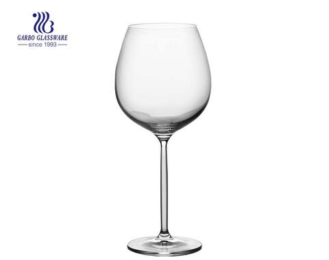 25 oz grandes copos de vinho tinto de cristal Borgonha vidro perfeito para jantares