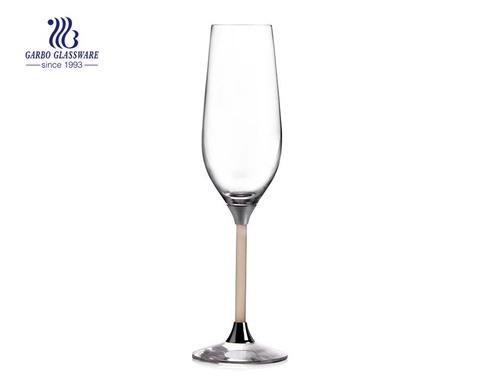 2er-Set in Geschenkbox 236 ml Kristall-Champagnerglas Perfekt für Nächte und Dinnerpartys