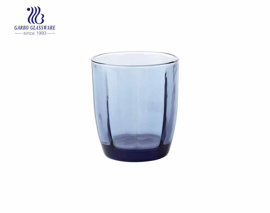 Exquisite lila Farbe Glas Wasserbecher Saftbecher