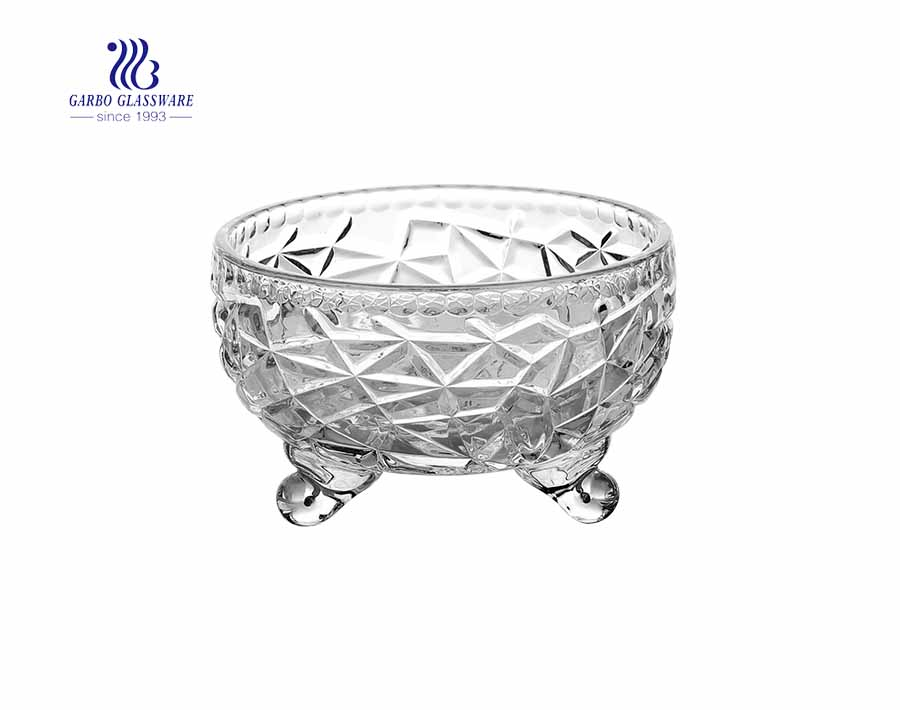 4.76 inch factory price high white glass sugar bowl with lid