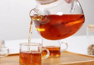The process of the tea pot that beautiful and heat resistant glass tea pot