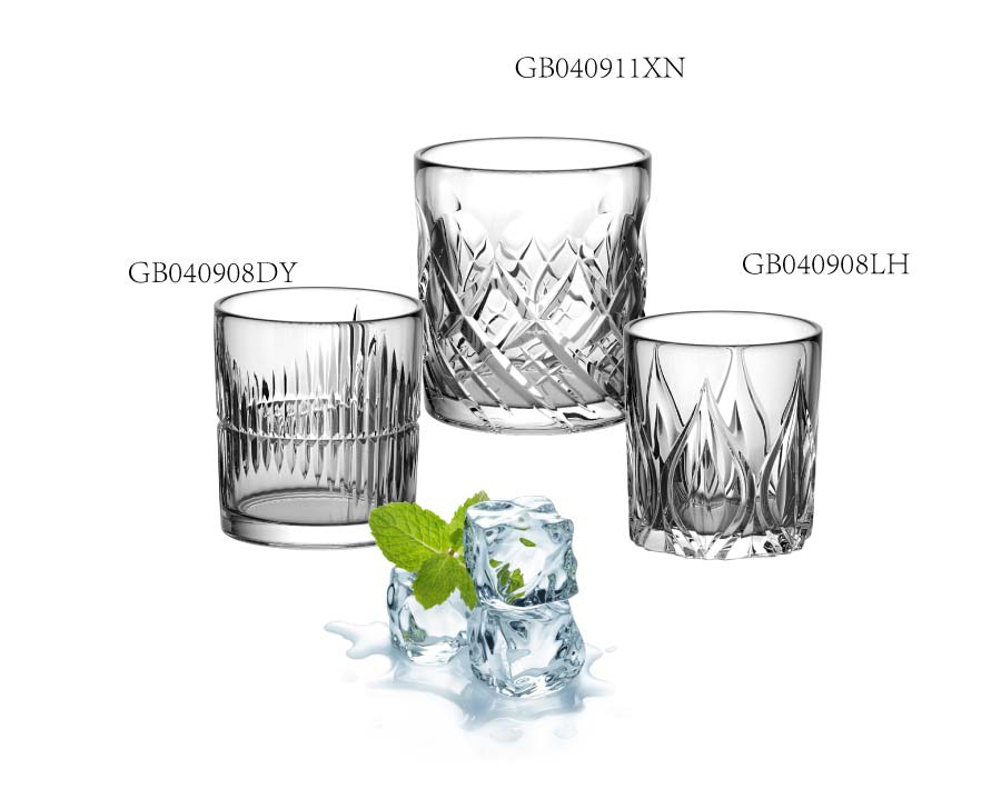 nueva llegada 11 oz taza de vidrio precio de fábrica whisky vaso de vidrio