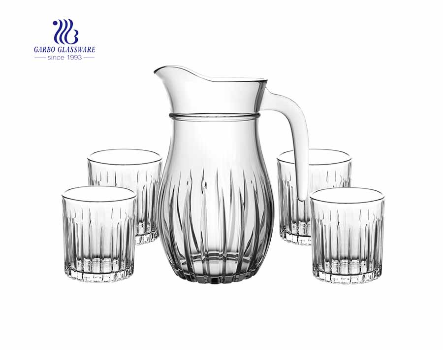 Garbo thiết kế mới bình thủy tinh uống trong suốt với bộ cốc
