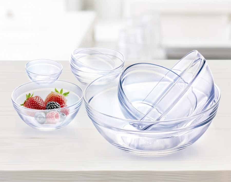 Boat Shaped Tableware  Dining  Glass Plate Glass Dish For Kitchen