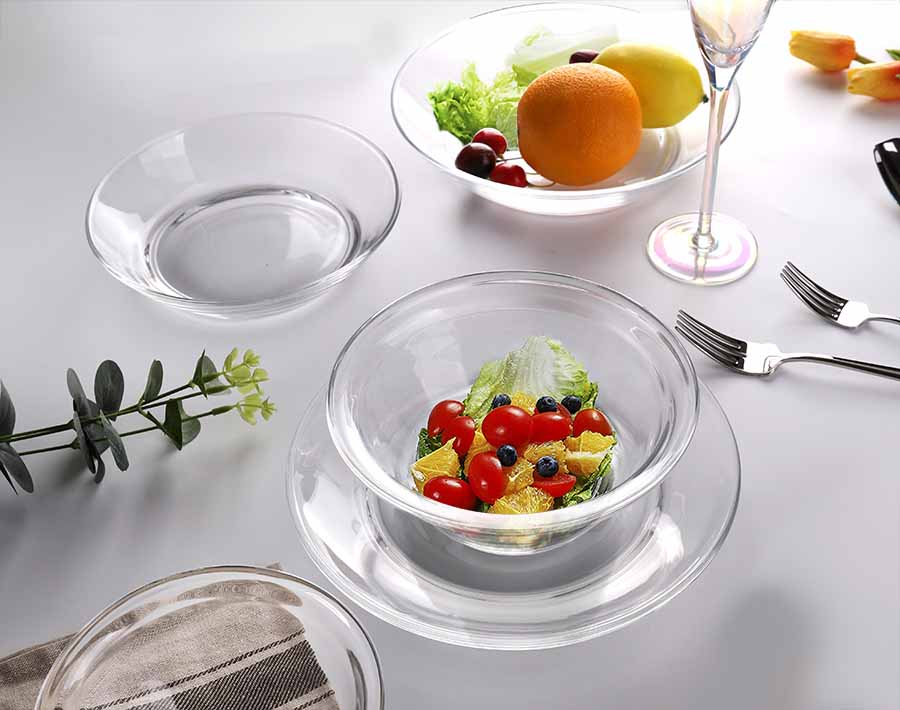 5.5 Inches Transparent Salad Bowl Pyrex glass bowls