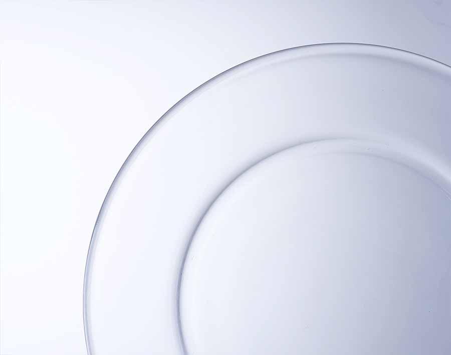 5.5 Zoll transparente Salatschüssel Pyrex Glasschalen