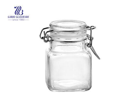 700ml plating glass storage jars cheap glass storage jars
