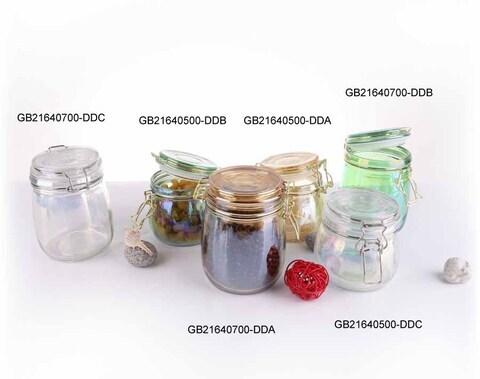 حار بيع طلاء الزجاج الجرار التخزين ذات جودة عالية