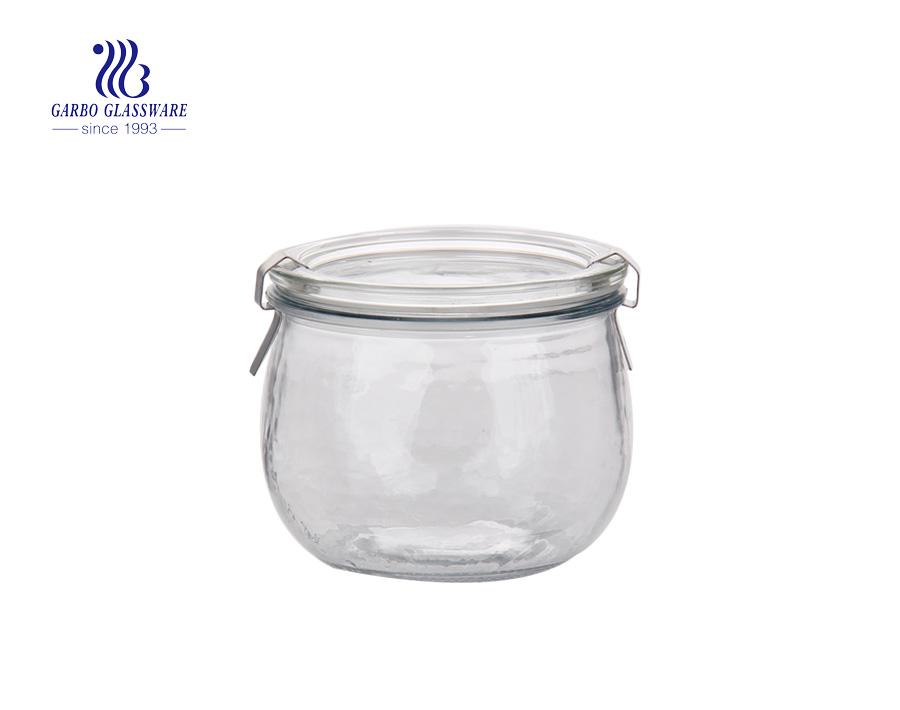 Plating Glass Storage Jars with Good price