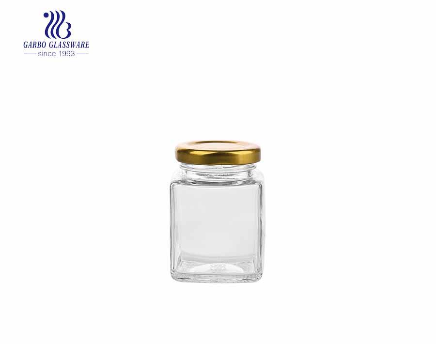 500ml Clear Glass Storage Jars Hot Sale Storage Jars