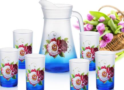 What are top summer glass pitcher sets for gift?