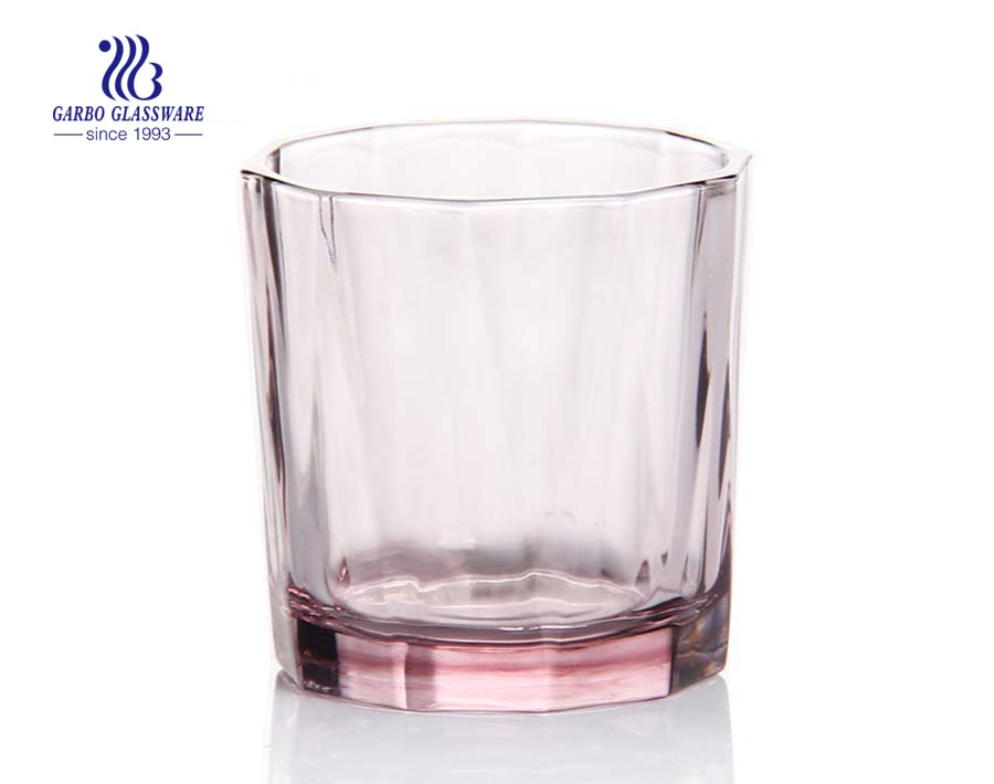 In stock custom logo allowed tinted color whisky glass
