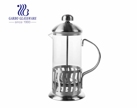 High Borosilicate Glass Kaffeemaschine French Press Pot