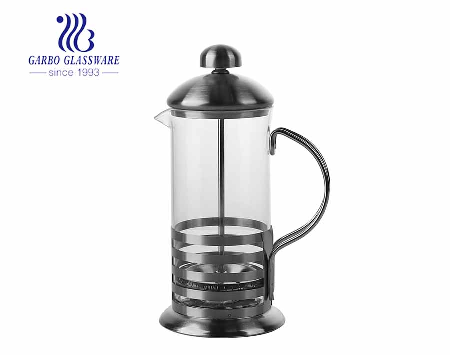 High Borosilicate Glass Coffee Maker French Press Pot