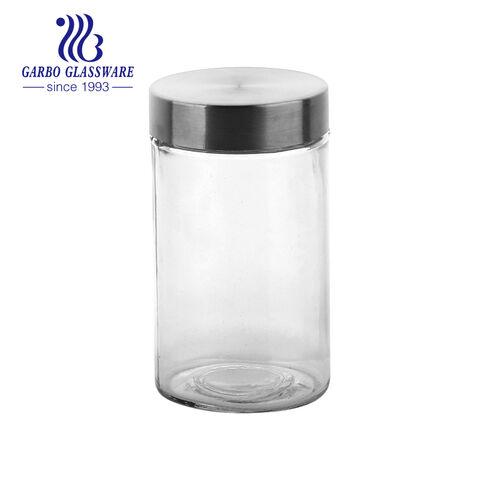 2000 ml grandes frascos de armazenamento de alta qualidade com bom preço novo design frascos de vidro doces