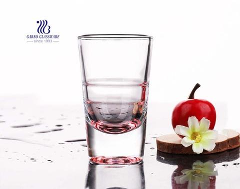 4oz Shot glass custom spray colored vodka liquor glasses