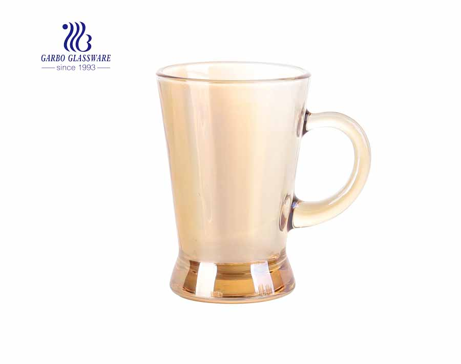 6Oz Tumbler Glas Mugs Ion điện ly Trà Uống Ly In Logo Ly Bia Ly