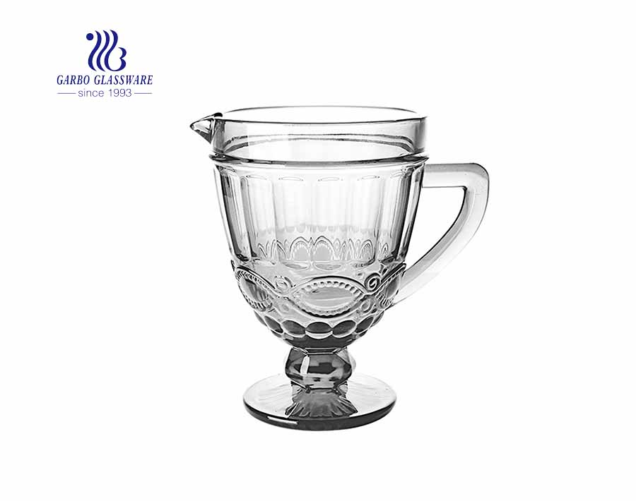 Glass Beverage Pitcher Clarity Design Tea Hot or Cold Water Pitcher with OEM Design