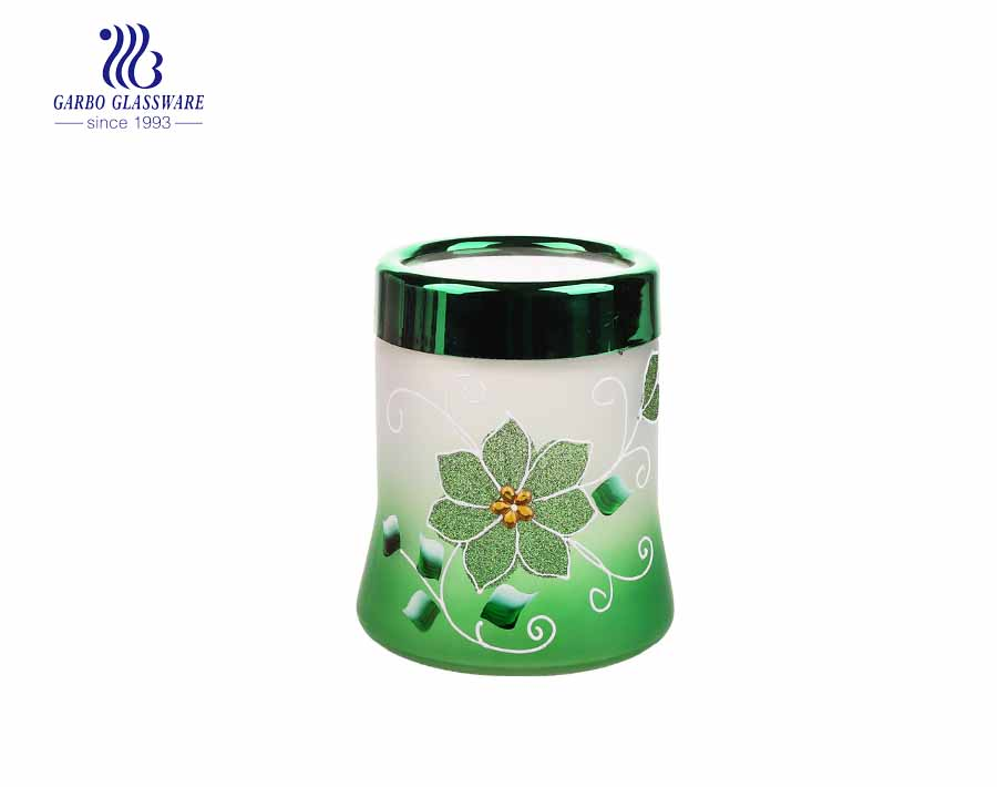 600ML Factory Glass Storage Jar with High Quality Best Honey Can