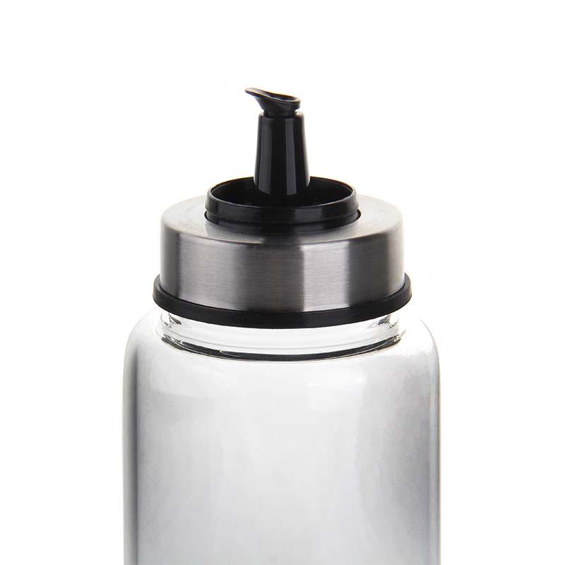 Wholesale 200ml home kitchen restaurant oil bottle caster soy sauce bottle vinegar bottle