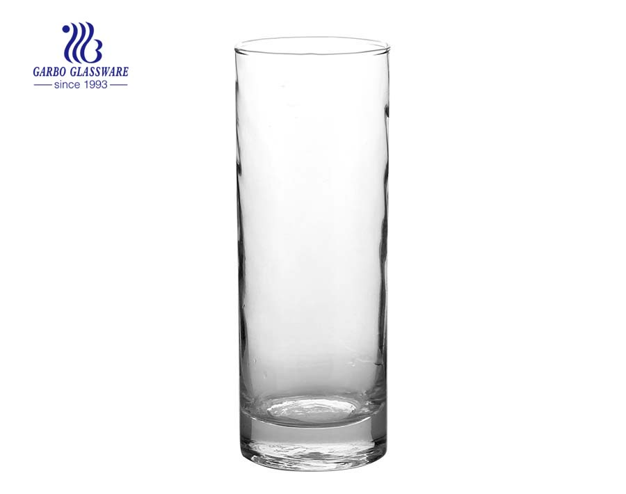 Machine blown 12oz straight high ball glass