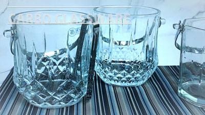 Garbo various glass ice bucket for your summer!