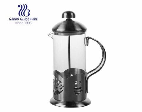 Garbo Hochwertiger kleiner französischer Pressentopf Glas 12.5 Unzen Kaffeekolben