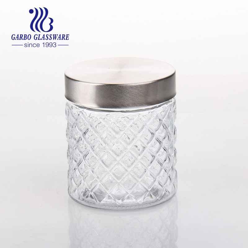 480ml Umweltfreundliche Glasvorratsgläser Fabrikpreis Glas Honiggläser